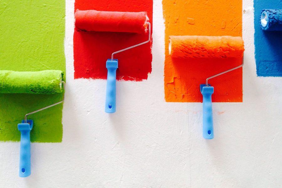 Non solo bianco: giochiamo con i colori delle pareti di casa!